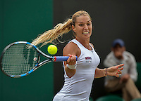 London, England, 4th July, 2016, Tennis, Wimbledon, Dominika Cibulkova (SVK) <br /> Photo: Henk Koster/tennisimages.com