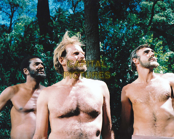 Planet of the Apes (1968) <br /> Charlton Heston, Robert Gunner &amp; Jeff Burton<br /> *Filmstill - Editorial Use Only*<br /> CAP/KFS<br /> Image supplied by Capital Pictures