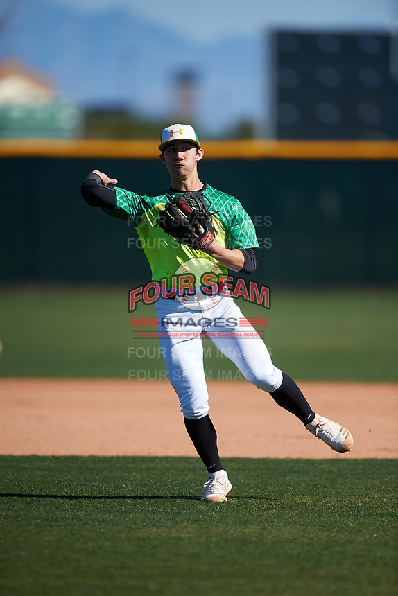 Dominic Giuffre during the Under Armour All-America Tournament powered by Baseball Factory on January 19, 2020 at Sloan Park in Mesa, Arizona.  (Zachary Lucy/Four Seam Images)