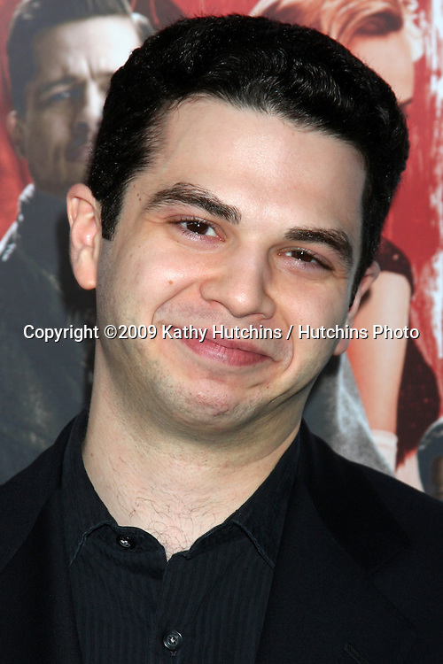 "Samm Levine.arriving at the Blu-ray & DVD Launch of ""inglourious Basterds"" .Beverly Cinema.Los Angeles,  CA.December 14, 2009.©2009 Kathy Hutchins / Hutchins Photo."
