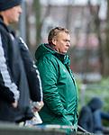 AMSTELVEEN - coach Albert-Kees Manenschijn (R'dam)  tijdens de hoofdklasse competitiewedstrijd heren, AMSTERDAM-ROTTERDAM (2-2). COPYRIGHT KOEN SUYK