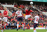 Marcus Tavernier of Middlesbrough heads the ball away during Charlton Athletic vs Middlesbrough, Sky Bet EFL Championship Football at The Valley on 7th March 2020