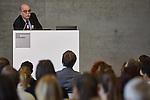 2.7.2015, Berlin Topographie des Terrors. NEBA-Konferenz Antisemitismus heute. Prof Dr. Andreas nachama