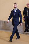 "Spanish King Felipe during the launching of the ""International Year of Sustainable Tourism for Development 2017"", at Royal Pardo Palace in Madrid, on January 17, 2016.  (ALTERPHOTOS/Rodrigo Jimenez)"