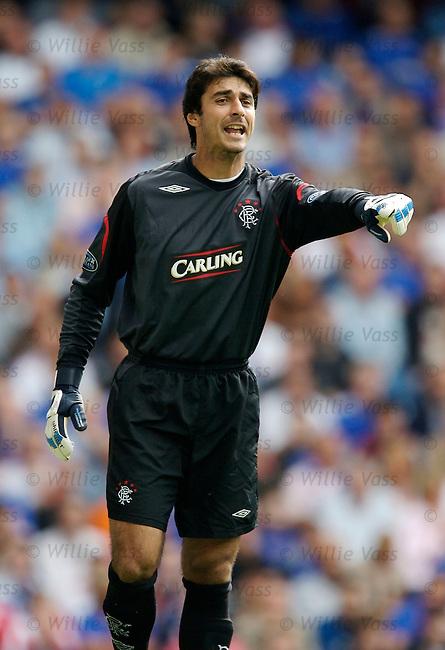 Lionel Letizi, Rangers.stock season 2006-2007.pic willie vass