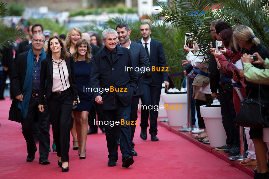 Anne Parillaud &amp; Claude Lelouch lors de la soir&eacute;e d'ouverture du 27&egrave;me Festival du film britannique de Dinard. <br /> France, Dinard, 29 septembre 2016.<br /> Opening night of 27th Edition of the Dinard British Film Festival.<br /> France, Dinard, 29 September 2016.