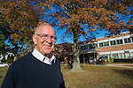 Merrick, New York, USA. Nov. 11, 2016. DAVID G. MCDONOUGH, (Republican - District 14) New York State Assemblyman, goes to vote for President and state and local officials, including for his office, at Polling Place at Park Avenue Elementary School. McDonough is running for re-election.