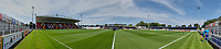 Panoramic view of the ground ahead of Woking vs Solihull Moors, Vanarama National League Football at The Laithwaite Community Stadium on 24th August 2019