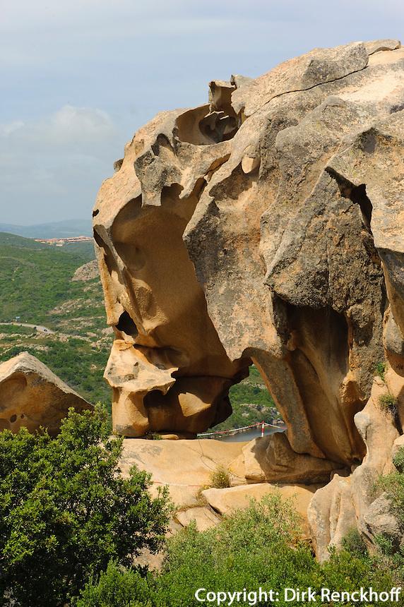 Capo d' Orso bei Palau, Gallura, Provinz Olbia-Tempio, Nord Sardinien, Italien