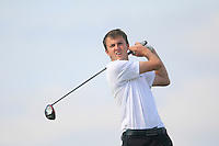 Ashley Chasters (ENG) on the 12th tee during the Home Internationals day 2 foursomes matches supported by Fairstone Financial Management Ltd. at Royal Portrush Golf Club, Portrush, Co.Antrim, Ireland.  13/08/2015.<br /> Picture: Golffile   Fran Caffrey<br /> <br /> <br /> All photo usage must carry mandatory copyright credit (© Golffile   Fran Caffrey)
