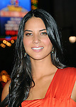 Olivia Munn arriving at the premiere for Watchmen held at Grauman's Chinese Theatre Hollywood, Ca. March 2, 2009. Fitzroy Barrett