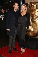 Jay James, wife Victoria Picton arriving for the British Academy Children's Awards (BAFTA)  held at the Roundhouse, London. 23/11/2014 Picture by: James Smith / Featureflash