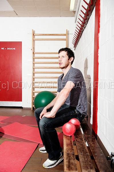 Belgian footballer Thomas Matton (Belgium, 27/01/2015)