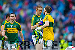 Colm Cooper and Brendan Kealy, Kerry players after defeating Tyrone in the All Ireland Semi Final at Croke Park on Sunday.