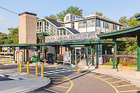 Metro-North North White Plains Station in White Plains, New York.
