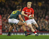 2nd December 2017, Principality Stadium, Cardiff, Wales; Autumn International Rugby Series, Wales versus South Africa; Aled Davies of Wales in action during the match