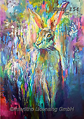 Simon, REALISTIC ANIMALS, REALISTISCHE TIERE, ANIMALES REALISTICOS, innovative, paintings+++++A_SueG_WoodlandHare,GBWR154,#a#, EVERYDAY