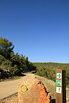 Israel, Lower Galilee, a Bicycle trail by Beth Keshet scenic road