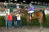 Double Threat winning at Delaware Park on 9/29/10