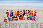GAA: The young Ballyheigue hurlers who took part in the Coiste na nOg Walk from Ballyheigue Beach to the Black Rock Ballyheigue on Sunday.
