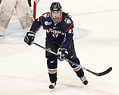 Jaime Fox (UConn - 47) - The Boston College Eagles defeated the visiting UConn Huskies 4-0 on Friday, October 30, 2015, at Kelley Rink in Conte Forum in Chestnut Hill, Massachusetts.