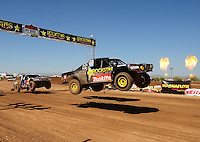 Apr 17, 2011; Surprise, AZ USA; LOORRS driver Kyle Leduc (99) during round 4 at Speedworld Off Road Park. Mandatory Credit: Mark J. Rebilas-