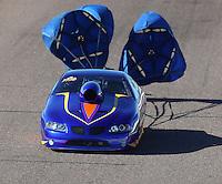 Feb 24, 2017; Chandler, AZ, USA; NHRA top sportsman driver Kelly Harper during qualifying for the Arizona Nationals at Wild Horse Pass Motorsports Park. Mandatory Credit: Mark J. Rebilas-USA TODAY Sports