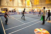 11-12-09, Rotterdam, Tennis, REAAL Tennis Masters 2009, Publieksruimte, Minitennisbaan