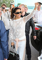 Eva Longoria at the Martinez hotel during the 66th Cannes Film Festival - Cannes