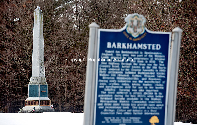 BARKHAMSTED ,  CT,  CT-041115JS09-  The Soldiers&rsquo; Monument located at Center Cemetery in Barkhamsted. <br /> Jim Shannon Republican-American