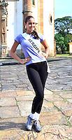 OURO PRETO, MG, 20.09.2013 - MISS BRASIL 2013 -Miss Sergipe, Lisianny Bispo candidata a Miss Brasil 2013 durante visita a cidade historica de Ouro Preto a 100 km de Belo Horizonte. (Foto: Eduardo Tropia / Brazil Photo Press)