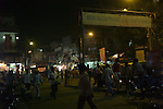Main Bazar Paharganj district of New Delhi, India.