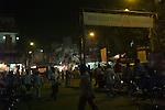 Main Bazar Paharganj district of New Delhi, India.