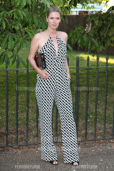 Nicky Hilton arriving for the Serpentine Summer Party, at the Serpentine Gallery, Hyde Park, London. 01/07/2014 Picture by: Alexandra Glen / Featureflash