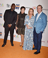 BEVERLY HILLS, CA - MAY 10: (L-R) Corey Gamble, Kris Jenner, Kathy Hilton and Rick Hilton attend the 26th Annual Race to Erase MS Gala at The Beverly Hilton Hotel on May 10, 2019 in Beverly Hills, California.<br /> CAP/ROT<br /> &copy;ROT/Capital Pictures