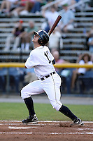 July 7th 2008:  Keith Stein of the Oneonta Tigers, Class-A affiliate of Detroit Tigers, during a game at Damaschke Field in Oneonta, NY.  Photo by:  Mike Janes/Four Seam Images