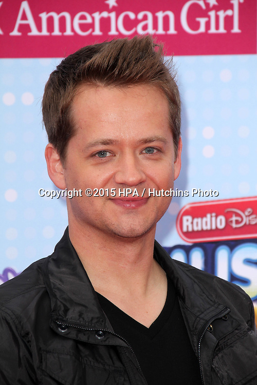 LOS ANGELES - FEB 25:  Jason Earles at the Radio DIsney Music Awards 2015 at the Nokia Theater on April 25, 2015 in Los Angeles, CA