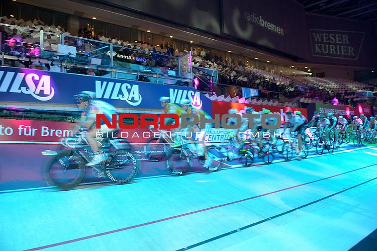 10.01.2014, &Ouml;VB Arena, Bremen, GER, Sixdays Bremen, im Bild Fahrerfeld der Sixdays<br /> <br /> Foto &copy; nordphoto / Frisch