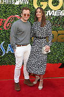 4 January 2020 - Beverly Hills, California - Taron Egerton, Emily Thomas. the 7th Annual Gold Meets Golden Brunch  held at Virginia Robinson Gardens and Estate. Photo Credit: FS/AdMedia