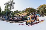 Team Taiwan No.1  in action during the Red Bull Soapbox Race 2017 Taipei at Multipurpose Gymnasium National Taiwan Sport University on 01 October 2017, in Taipei, Taiwan. Photo by Victor Fraile / Power Sport Images