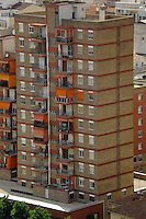 High rise apartments / building in Lleida, Cataluna, Spain.