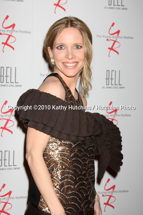 Lauralee Bell.arrivng at The Young & The Restless 37th Anniversary Dinner.Via Allorro.Beverly Hills, CA.March 9, 2010.©2010 Kathy Hutchins / Hutchins Photo....
