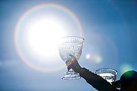 2017 IMSA Continental Tire SportsCar Challenge<br /> Visit Sebring 120<br /> Sebring International Raceway, Sebring, FL USA<br /> Friday 17 March 2017<br /> Continental Tire SportsCar Challenge Podium, 60, Ford, Ford Mustang, GS, Jade Buford, Scott Maxwell<br /> World Copyright: Jake Galstad/LAT Images