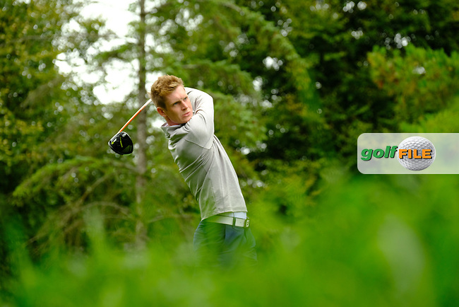Ross Dutton (Ulster) during final day foursomes at the Interprovincial Championship 2018, Athenry golf club, Galway, Ireland. 31/08/2018.<br /> Picture Fran Caffrey / Golffile.ie<br /> <br /> All photo usage must carry mandatory copyright credit (© Golffile | Fran Caffrey)