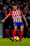 Rodrigo Cascante of Atletico de Madrid in action during the La Liga 2018-19 match between Atletico de Madrid and Athletic de Bilbao at Wanda Metropolitano, on November 10 2018 in Madrid, Spain. Photo by Diego Gouto / Power Sport Images