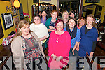 Action Breast Cancer Fundraiser: Attending the Action Breast Cancer fund raising event at Ryan's Bar, Listowel on Friday night were in frontMarie O'Donovan, Marie Carty, Oonagh O'Hanlon & Helena Enright. Back : Martin Higgins, Carriona Ahern, Eleanor Galvin, Olivia Cree, Yvonne Fitzgerald & Gina O'Donoghue.
