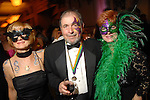 Chris and Doug McMurray and Gayle Herring at the San Luis Mardi Gras Ball in Galveston Friday Feb. 01,2008.(Dave Rossman/For the Chronicle)