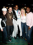 Adrian Baily ( Gypsy Robe Winner - LITTLE MERMAID ) with Sierra Boggess &amp; Sean Palmer &amp; Sherie Renee Scott &amp; Tituss Burgess<br /> Attending the Opening Night Gypsy Robe Ceremony for THE LITTLE MERMAID at the Lunt-Fointanne Theatre in New York City.<br /> January 10, 2008