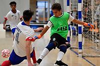 Youth Futsal Championships at ASB Sports Centre, Wellington, New Zealand on Sunday  14 July 2019. <br /> Photo by Masanori Udagawa. <br /> www.photowellington.photoshelter.com