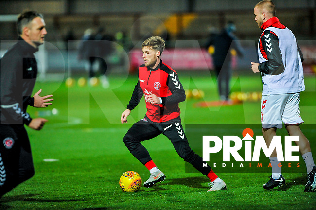 Fleetwood Town's forward Conor McAleny (10) during the Sky Bet League 1 match between Fleetwood Town and Coventry City at Highbury Stadium, Fleetwood, England on 27 November 2018. Photo by Stephen Buckley / PRiME Media Images.